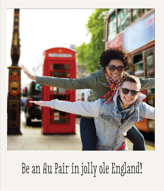 how to become an au pair in england