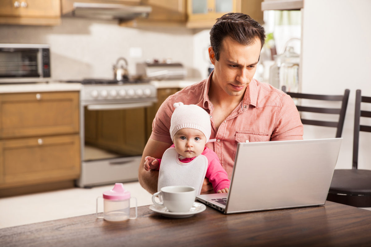 busy parent